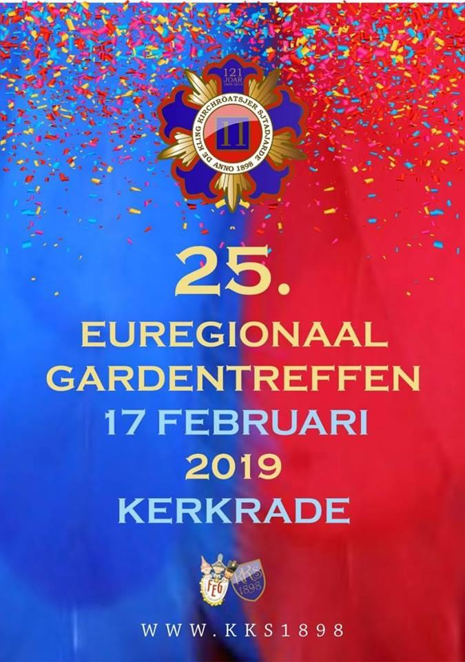 25e Euregionale Gardetreffen @ HuB Kerkrade | Kerkrade | Nederland